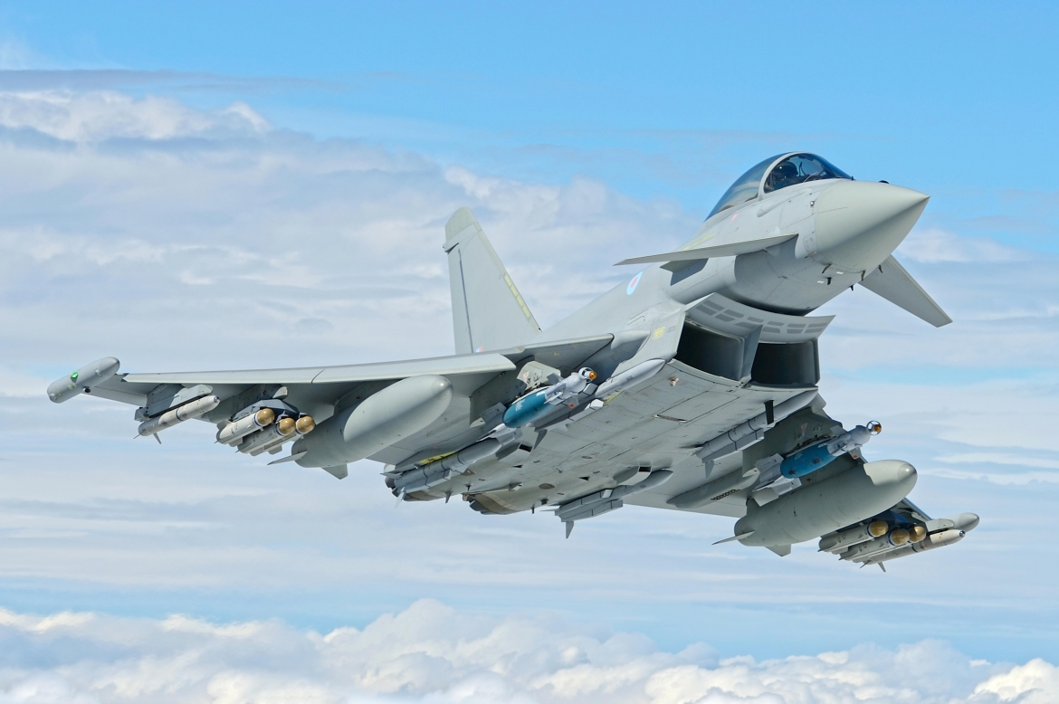 Successful flight trials completed ahead of Brimstone weapon firing on Eurofighter Typhoon jet