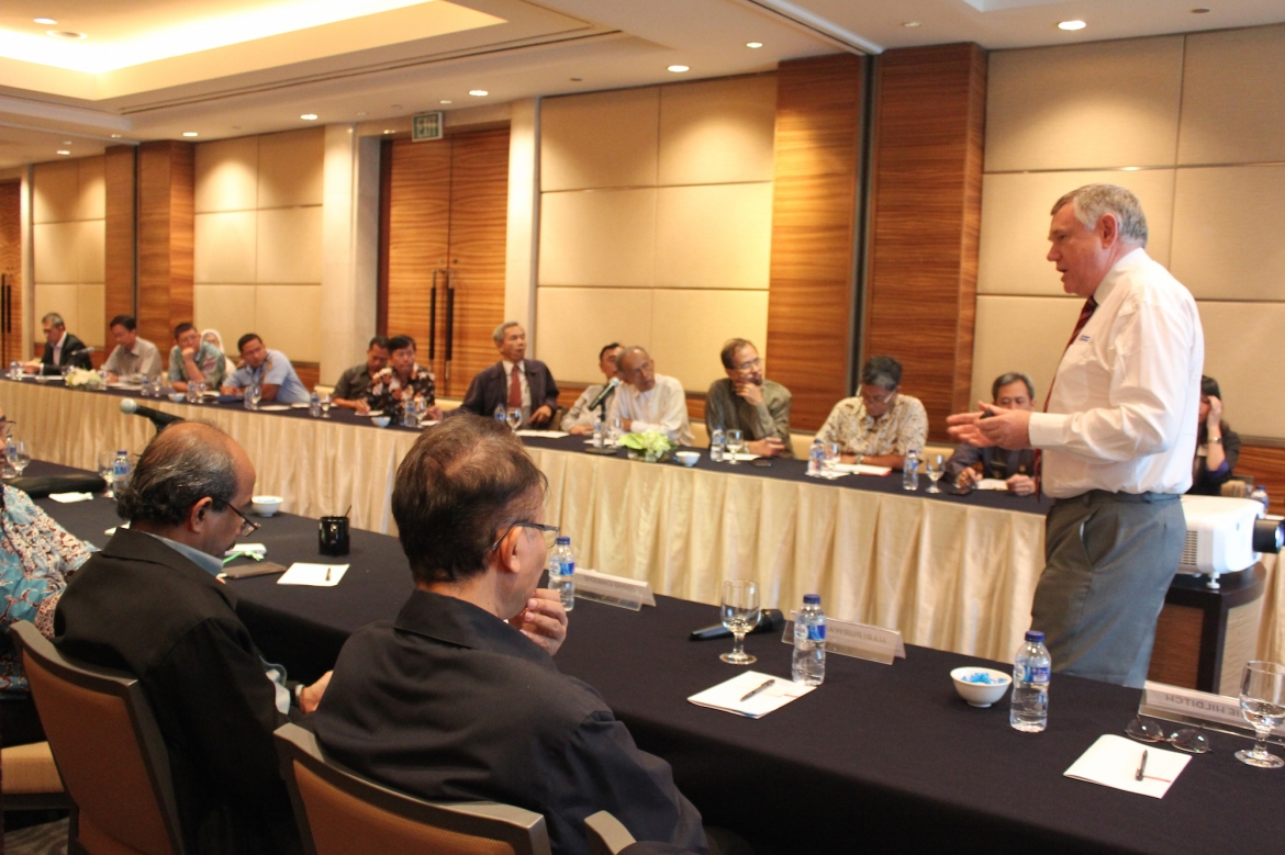 Realising Indonesia's Maritime Axis Vision through Innovation
