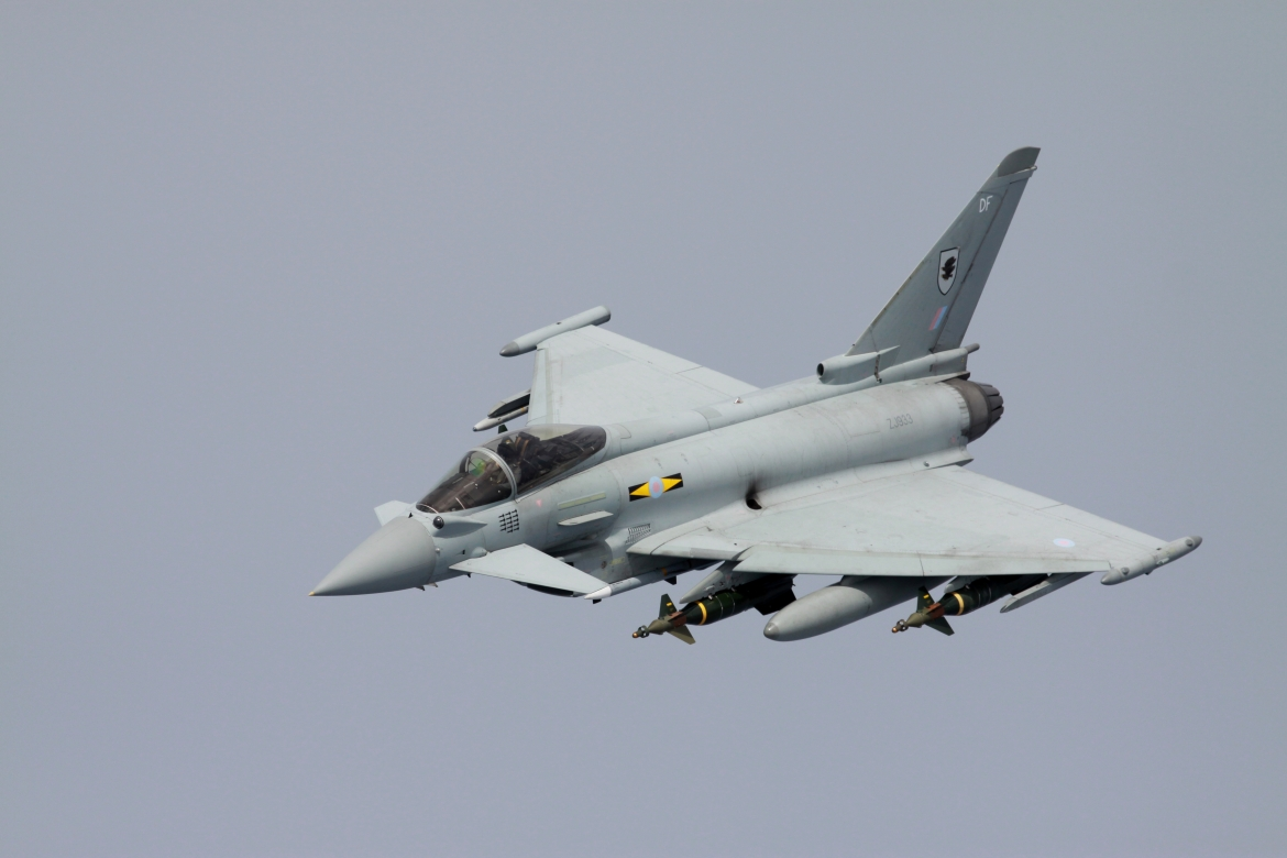 Four EPW II plus air-to-air missiles
