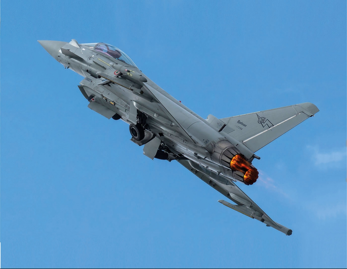 Eurofighter Typhoon | Mara Angelosante - winner of the Eurofighter