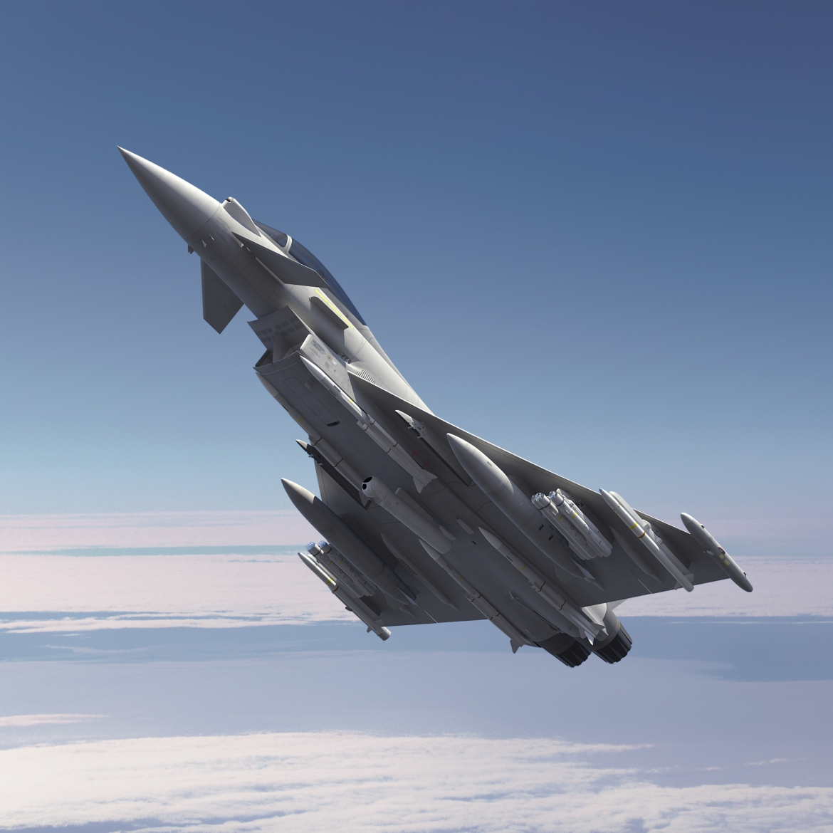 Successful Brimstone weapon integration flight trials continue for Typhoon