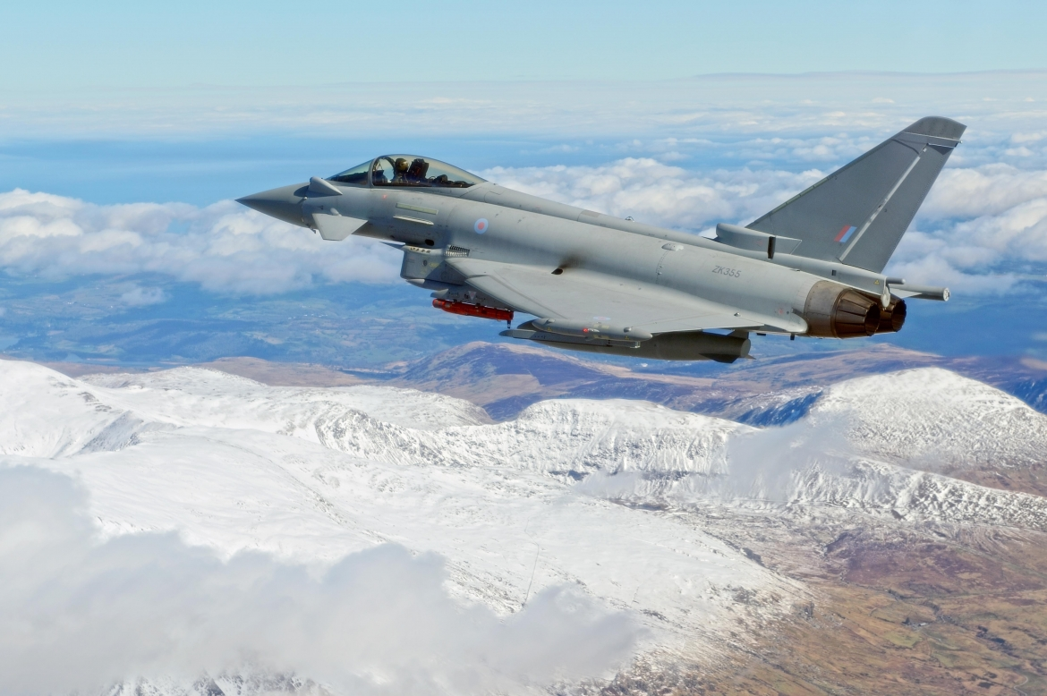 Eurofighter Typhoon | Spear Missile Fired From Eurofighter
