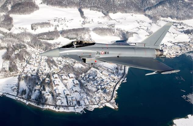 World Economic Forum 2016 in Davos: Eurofighter Typhoon Will Secure The Airspace