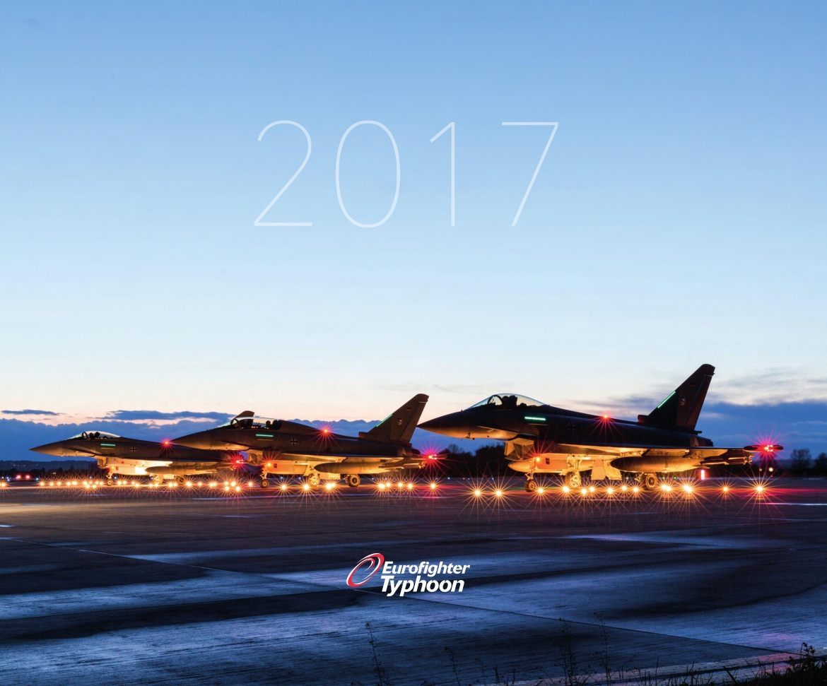 Download the 2017 Eurofighter Typhoon Calendar