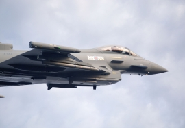 17 Squadron Typhoon with Meteor missiles