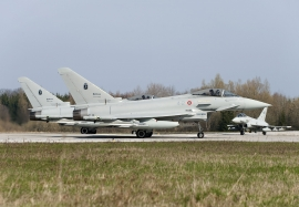 ITAF Eurofighter at Nato Exercise Brilliant Ardent 2010