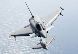 SPAF Eurofighter from Moron, Spain