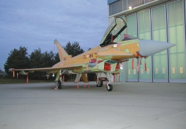 EADS D Eurofighter final Assembly at Manching, Germany