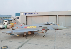 The 300th aircraft delivered by Cassidian Spain