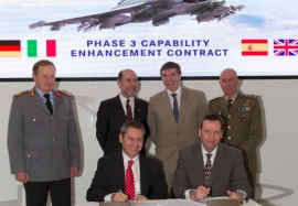 Eurofighter Typhoon powers forward with new enhancement contract