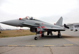 First Italian Tranche 3 Eurofighter Typhoon