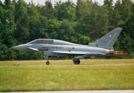 Eurofighter Type Acceptance 2003 in Manching, Germany
