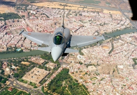 EADS CASA Eurofighter IPA 4 at Moron Airbase Spain on trials