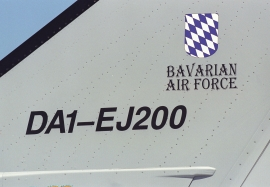 EADS IPA 1 fin markings