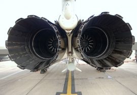 Eurojet EJ200 Twin Engines Up Close