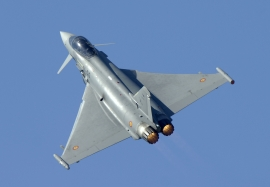 Spanish Air Force Eurofighter Typhoon from ALA-11 based in Moron