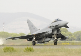 ITAF EF2000 Typhoon 9 and 20 Squadron Operations at Grosseto,Ita