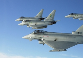 3 (F) and 29(R) Squadron Single Seat Eurofighter Typhoon