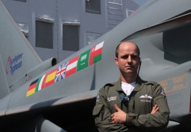 Eurofighter Typhoon Capability Manager Paul Smith at ILA Berlin Air Show 2014