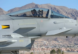 RAF Eurofighter Typhoon aircraft at Nellis in 2013 acquitted themselves well
