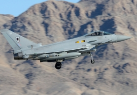 RAF Eurofighter Typhoon at Nellis in 2013