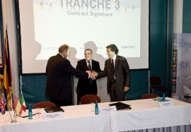 Tranche 3 signing