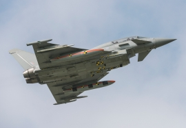Eurofighter Typhoon with Meteor