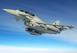 Royal Air Force Typhoons with Paveway