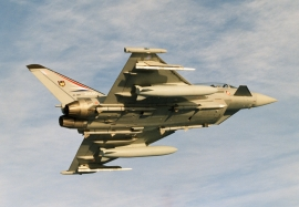 BAE SYSTEMS DA4 with drop tanks, FT pods and 4xAMRAAM missiles o
