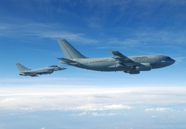 EADS D IPA 7 air-air refuelling with A310 MRTT tanker