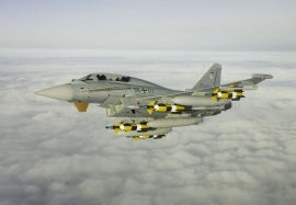 EADS D Eurofighter IPA 3 With weapons being flown by TP C Worni