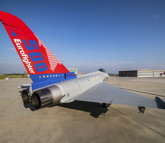 500th Eurofighter Typhoon produced, delivered to the Italian Air Force