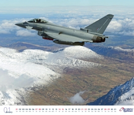 Eurofighter calendar 2017-01